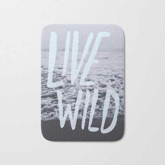 Live Wild: Ocean Bath Mat