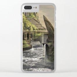 Aztec Island | Concept Environmental Landscape Concept Design Clear iPhone Case