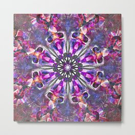 Abstract Color Space No 1 Metal Print