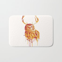 Owlope Stripped Bath Mat
