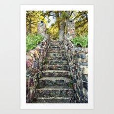 Ever Upward Art Print