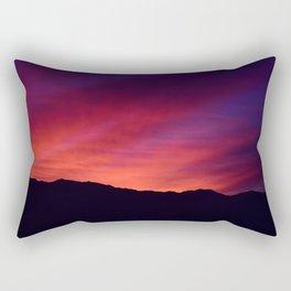 SW Mountain Sunrise - 5 Rectangular Pillow