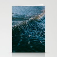 gravity Stationery Cards featuring Gravity by Leah Flores