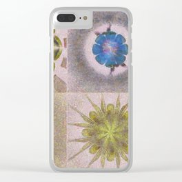 Underbuys Configuration Flowers  ID:16165-093621-68510 Clear iPhone Case