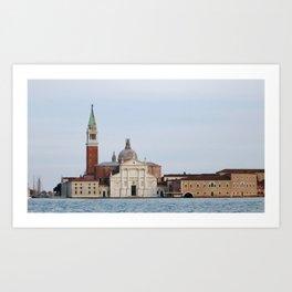Chiesa di San Giorgio Maggiore Art Print