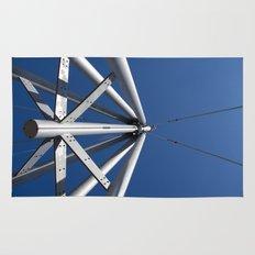 Sky and steel Rug