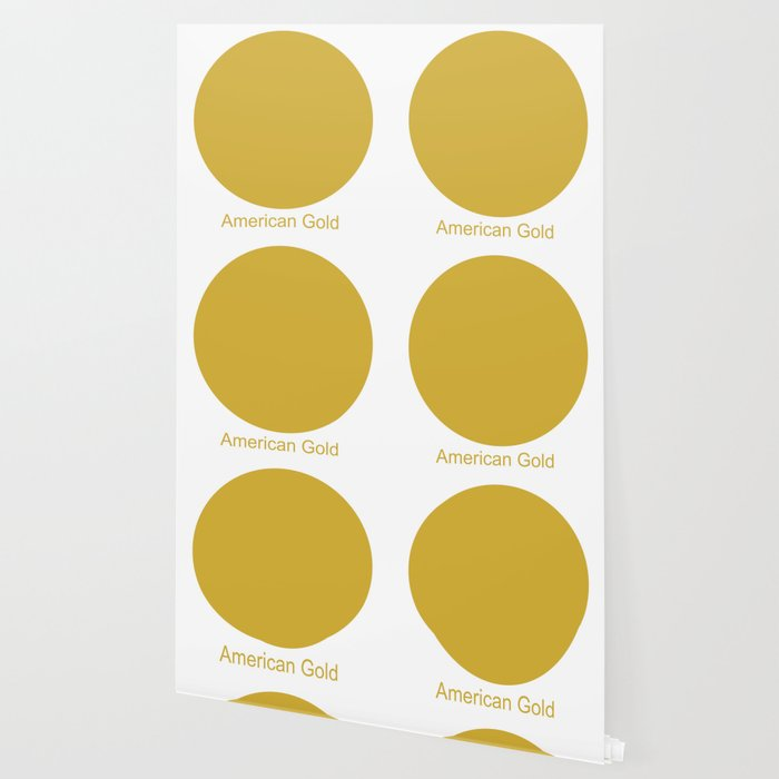 American Gold Wallpaper