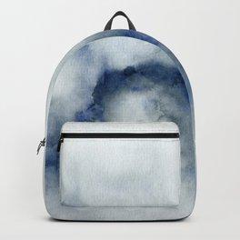 Indigo Abstract Painting | No.3 Backpack