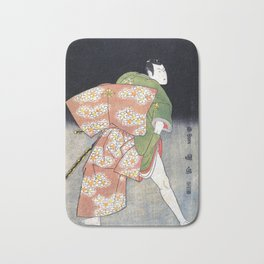 Green Samurai Bath Mat