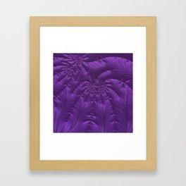 Renaissance Purple Framed Art Print