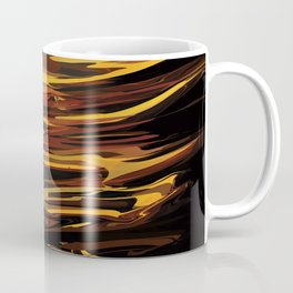 NASA Retro Space Travel Poster #12 - Titan Coffee Mug