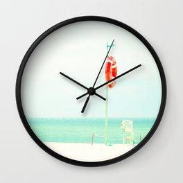 beach V Wall Clock