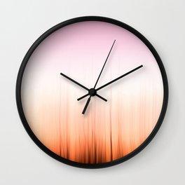 Poetic Sunset Wall Clock