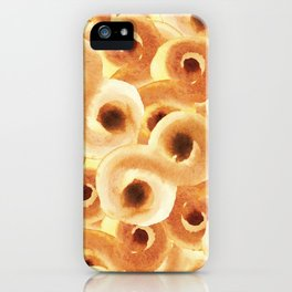 Swedish Christmas Buns with Saffron and Raisins lovers and fan, Job of baking iPhone Case