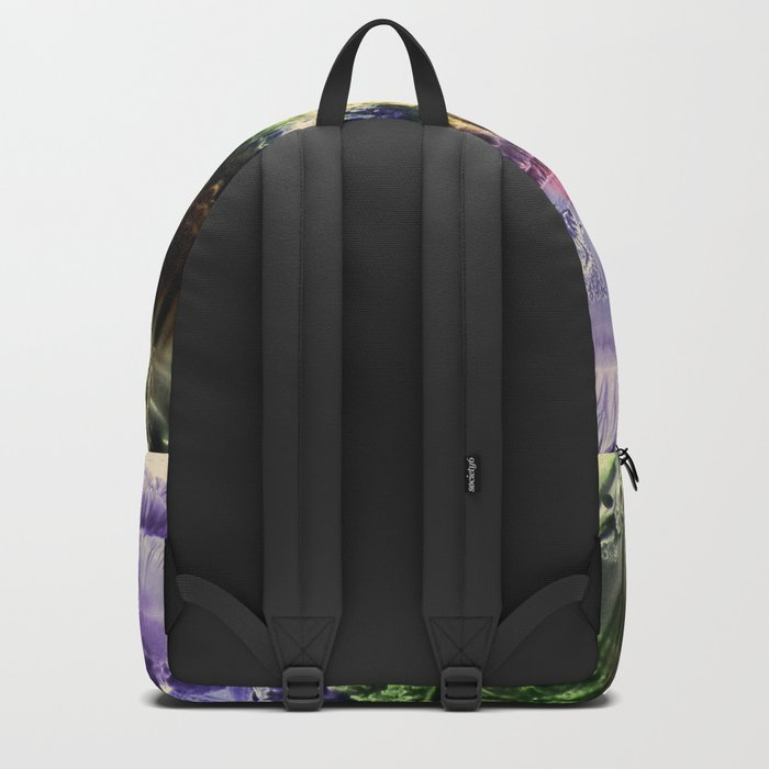 abstract composition 3 Backpack