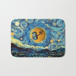 4th Doctor who starry night iPhone 4 5 6 7 8, pillow case, mugs and tshirt Bath Mat