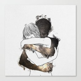 I would keep you forever (GOLD). Canvas Print