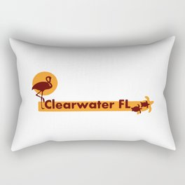 Clearwater Beach - Florida. Rectangular Pillow