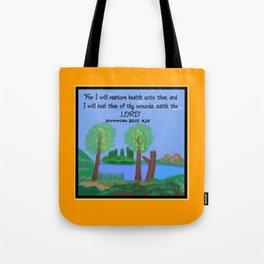 Jeremiah 30:17, KJV Tote Bag