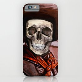 The Gunslinger - Dia De Los Muertos iPhone Case