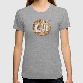 Spread Love - Cream Cheese on a Bagel T-shirt