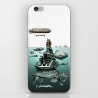 turtle iPhone & iPod Skins featuring turtle by Кaterina Кalinich