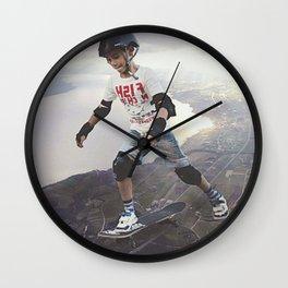 Circling Anchor Wall Clock
