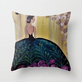 Ballroom Beauty Throw Pillow