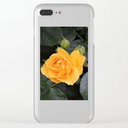 """A Rose Named """"Julia Child"""" Clear iPhone Case"""