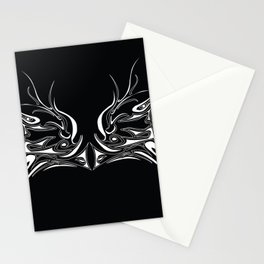 Face Off with the Dragon Stationery Cards