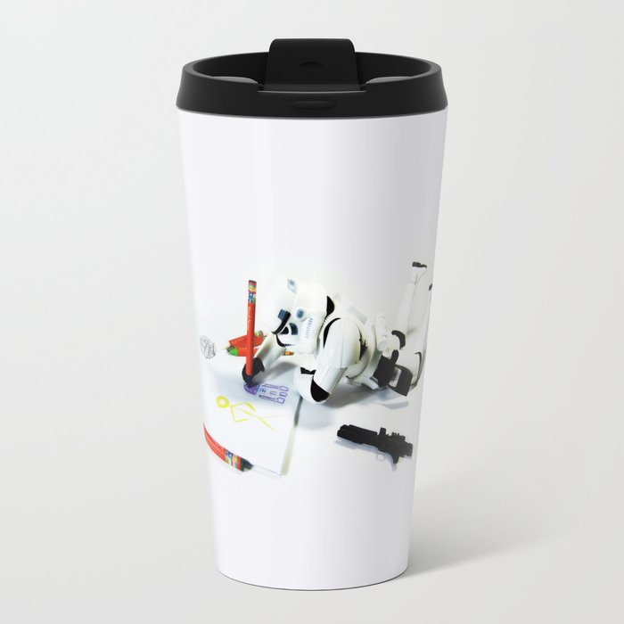 Drawing Droids Travel Mug