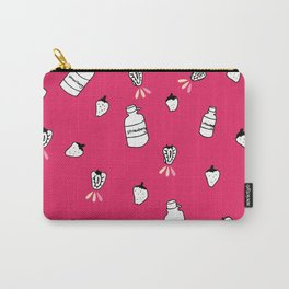 SJ (Strawberry Juice) Carry-All Pouch