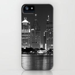 Cityscape (Black & White) iPhone Case