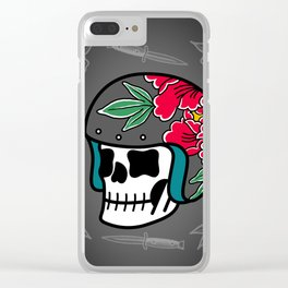 A Little Death Clear iPhone Case