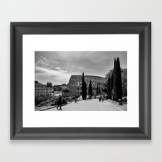 Colleseum, Colloso, Rome Framed Art Print