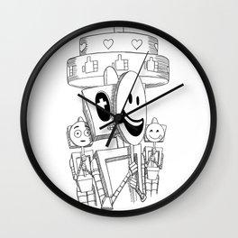 Social Media no.2 Wall Clock