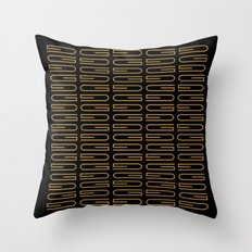 G Pattern Duece Throw Pillow