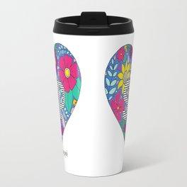 Whimsical Heart SLP Travel Mug
