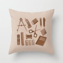 Stationery(Ver.1) Throw Pillow