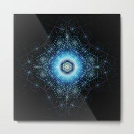 Dimensional Geometry Metal Print