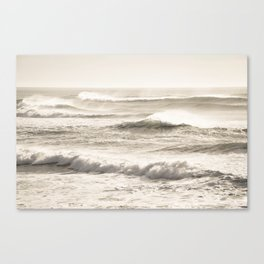 Windswept Waves Canvas Print