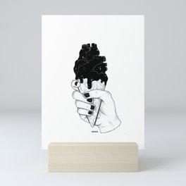 melting heart Mini Art Print