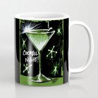 martini Mugs featuring Martini  by David Miley