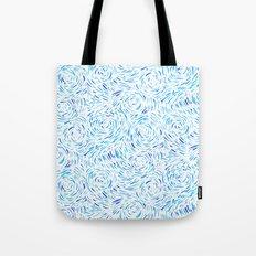 Dashed Waves Tote Bag