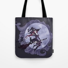 Flying Witches Tote Bag