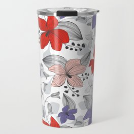 Avery White Travel Mug