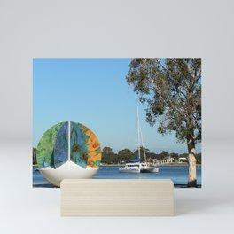 Mandurah, Western Australia Mini Art Print