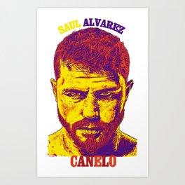 CANELO Art Print