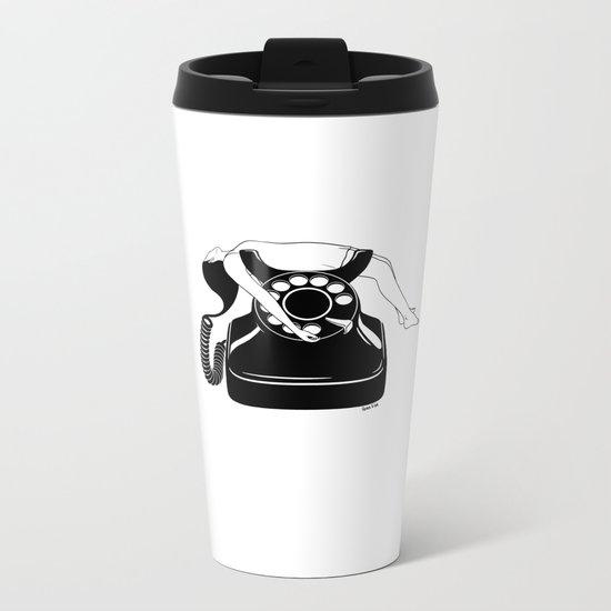 Ring My Bell Metal Travel Mug