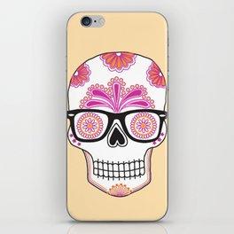 sugar skull #bonethug iPhone Skin